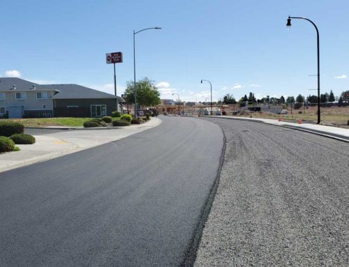 New Road Construction connects Zillah to Zillah Lakes