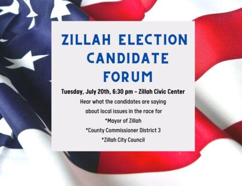 Zillah Election Candidate Forum